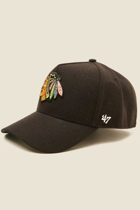 47 Brand MVP DT Snapback Chicago Blackhawks Black