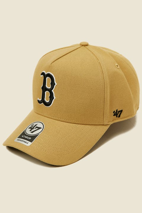 47 Brand MVP DT Snapback Boston Red Sox Tan/Black