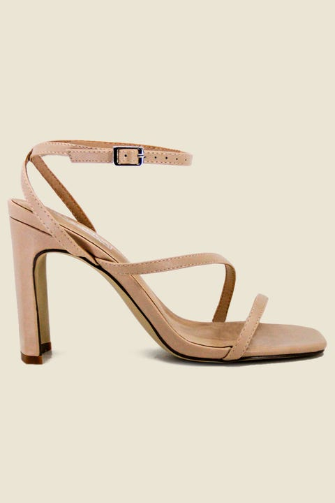 THERAPY Strapt Heel Nude