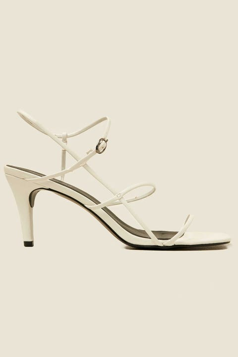 THERAPY Flossy Heel White