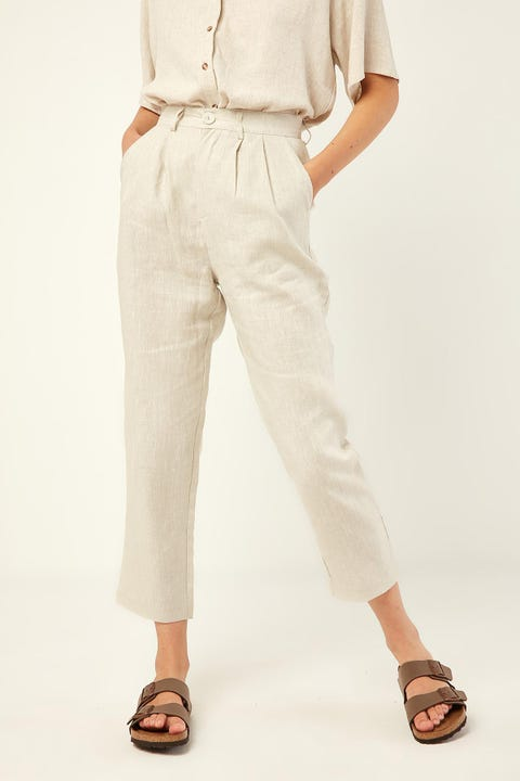PERFECT STRANGER Lost in Paris Pant Oatmeal