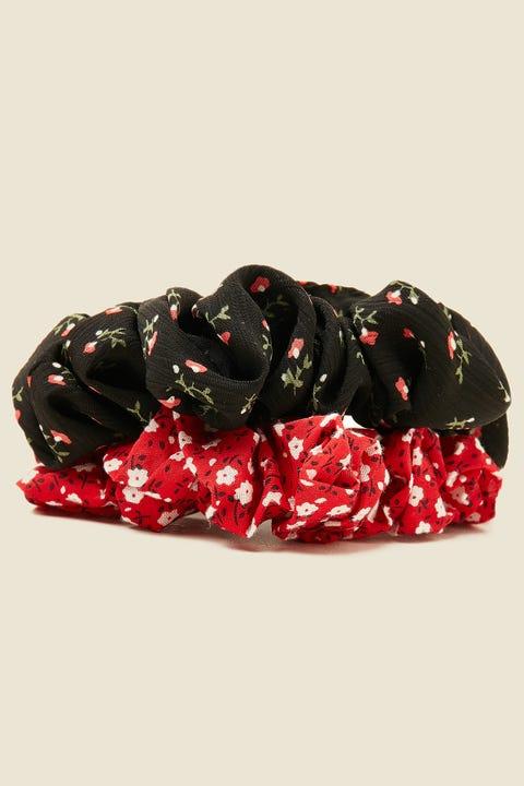 TOKEN Large Scrunchie 2 Pack Multi