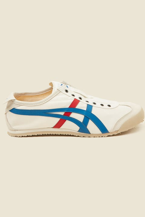 ONITSUKA TIGER Mexico 66 Slip-On White/Blue/Red