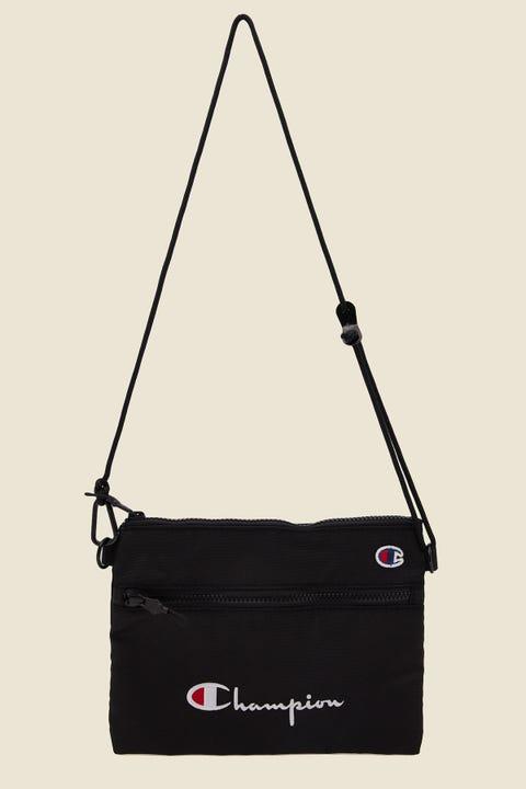 Champion Script Shoulder Bag Black