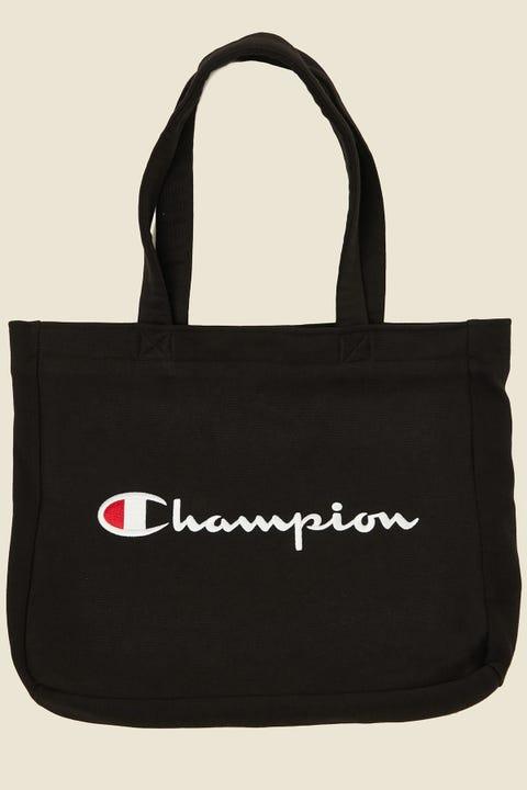Champion Reverse Weave Tote Bag Black