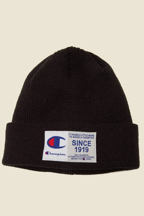 Champion Jocktag Beanie Black