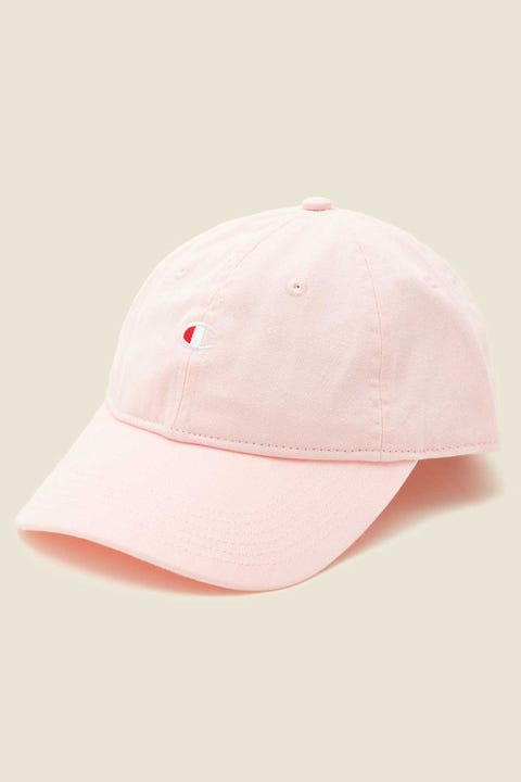 Champion C Logo Vintage Cap Blush Ceramic