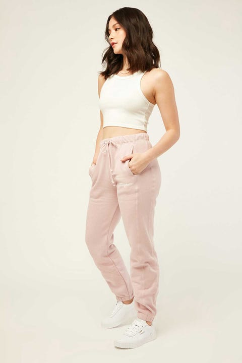 Champion RW Jogger w Graphic Blush Ceramic