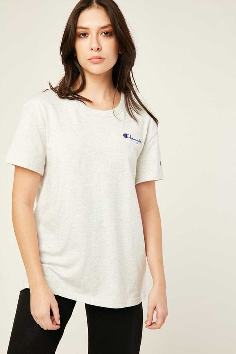 Champion The Boyfriend Tee Silver Grey