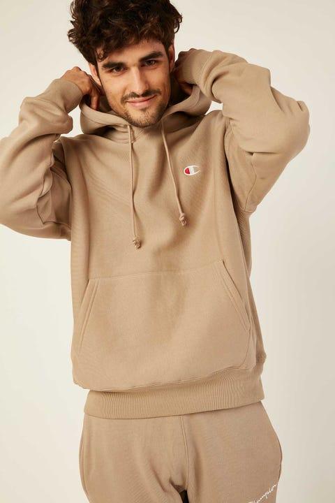 Champion Reverse Weave Hoodie American Khaki