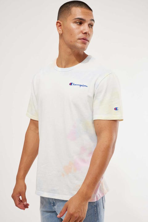 Champion Heritage Tee Cloud Dye Cloud 1