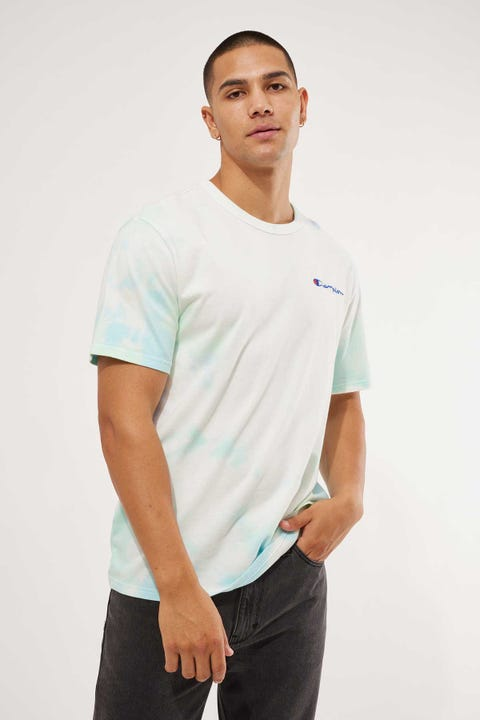 Champion Heritage Tee Cloud Dye Cloud 2