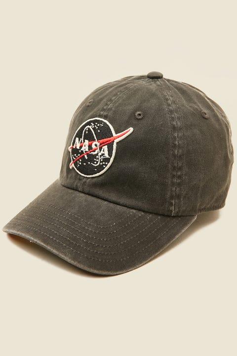 American Needle NASA Raglan Cap Washed Black