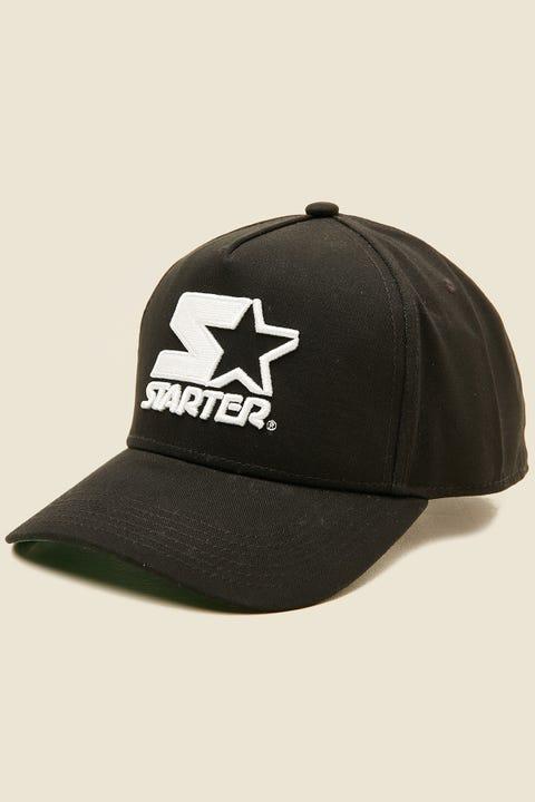STARTER Throwback Snapback Black/Black