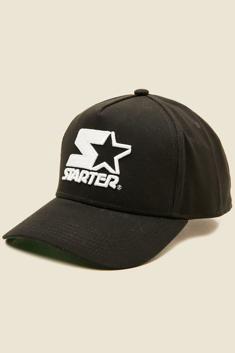 STARTER Throwback Snapback Black/Black