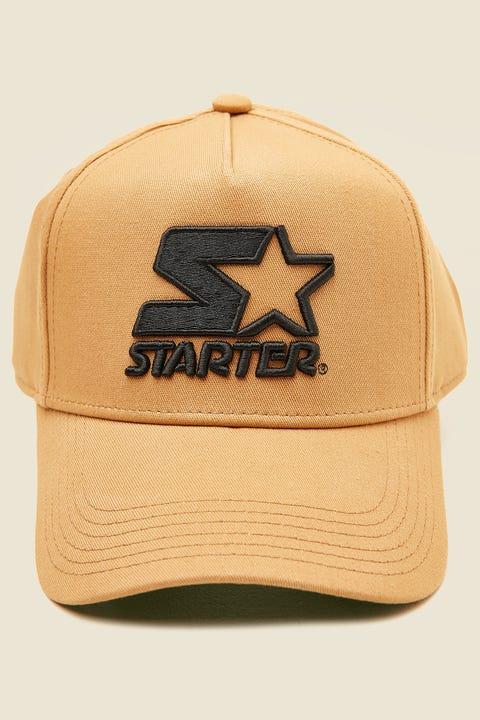 STARTER Throwback Snapback Khaki