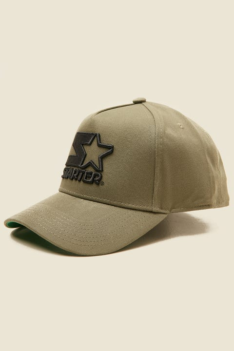 STARTER Throwback Snapback Olive