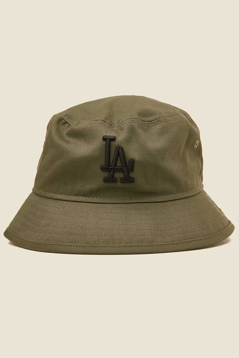 NEW ERA Bucket LA Dodgers New Olive/Black