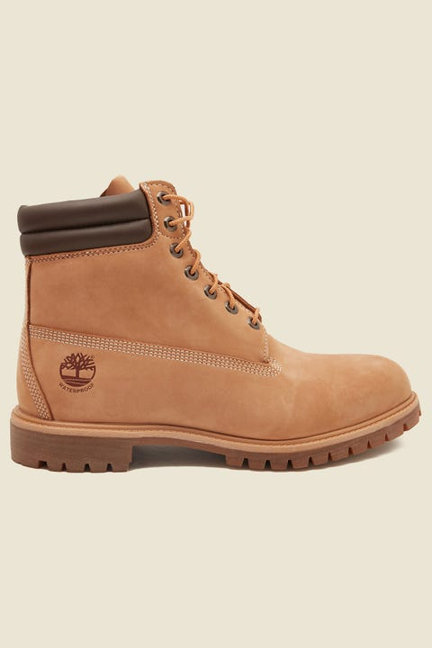 "TIMBERLAND 6"" Boot Double Collar Wheat"