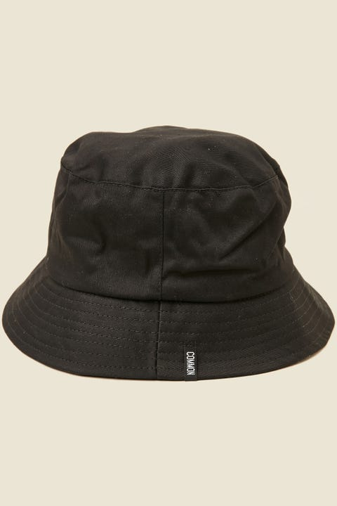COMMON NEED Creator Bucket Hat Black