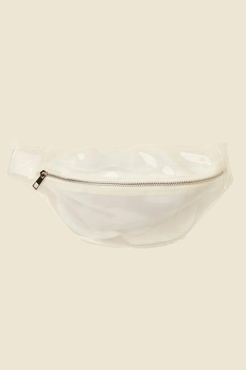 Token Clear Bumbag White