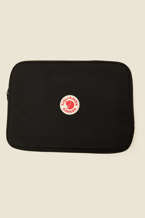 "Fjallraven Kanken Laptop Case 13"" Black"