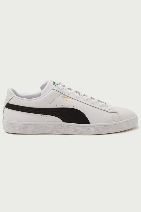 Puma Mens Basket Classic XXI White/Black
