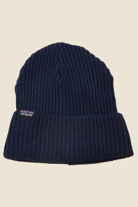 Patagonia Fisherman's Rolled Beanie Navy