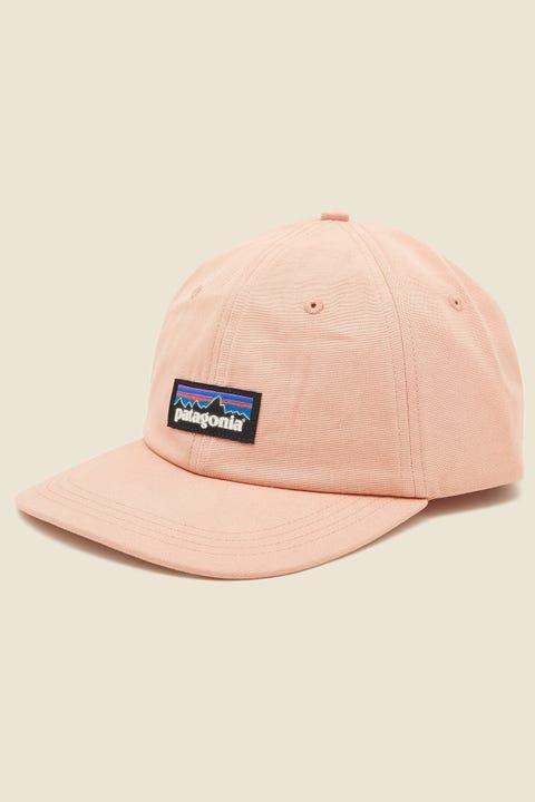 PATAGONIA P-6 Label Trad Cap Scotch Pink