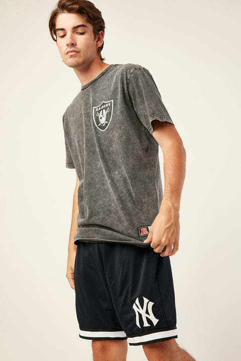 Majestic Athletic Oakland Raiders Tee Washed Black