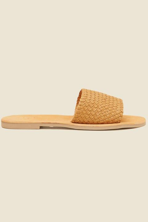 URGE Mya Slide Saddle Tan