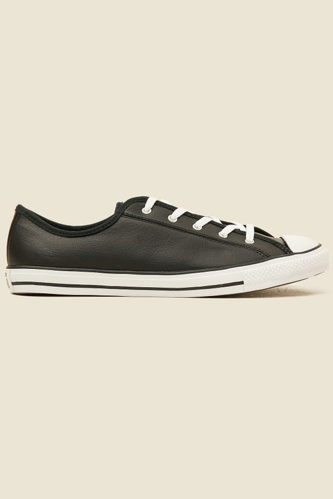 CONVERSE Womens CT Dainty Leather Black/White