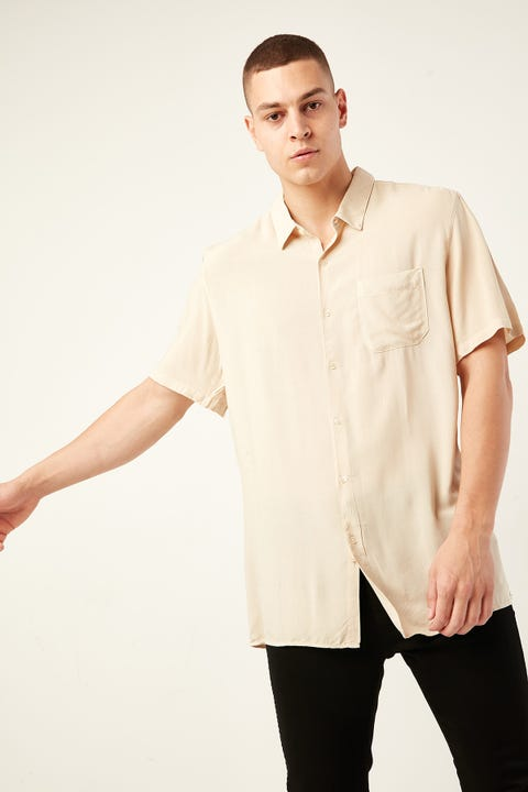 COMMON NEED Rotation Party Shirt Bone White