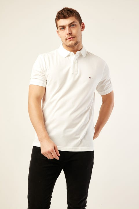 Tommy Jeans Tommy Regular Polo Bright White