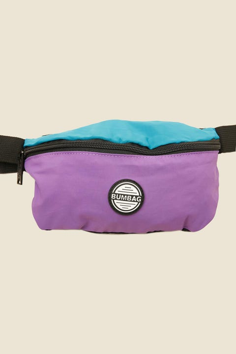 BUMBAG CO Pouch Rubble Purple/Teal