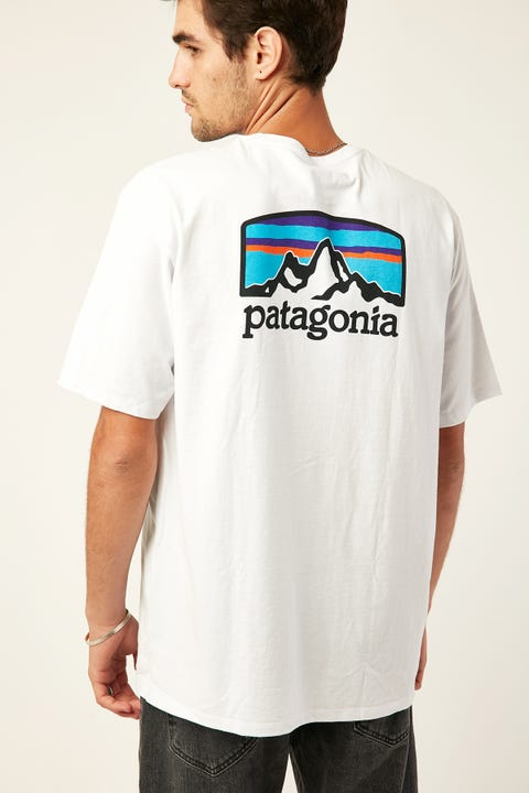 PATAGONIA M's Fitz Roy Horizons Tee White
