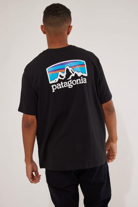 Patagonia M's Fitz Roy Horizons Tee Black