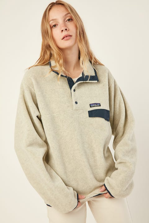 PATAGONIA M's Lightweight Synchilla Snap-T Pullover Black