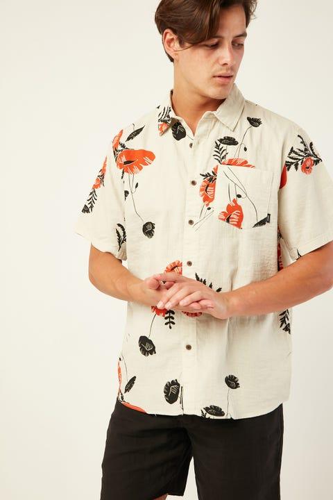 THRILLS Utopian Paradise SS Shirt Calico