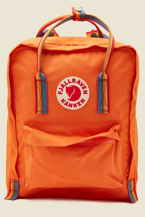 Fjallraven Kanken Rainbow Burnt Orange