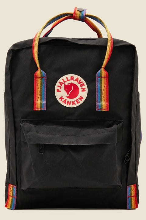 Fjallraven Kanken Rainbow Black