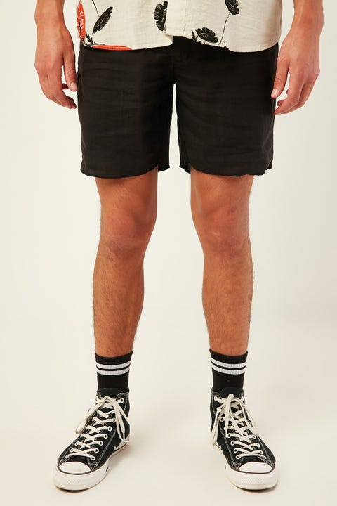 THRILLS In Sense Chopped Chino Short Washed Black
