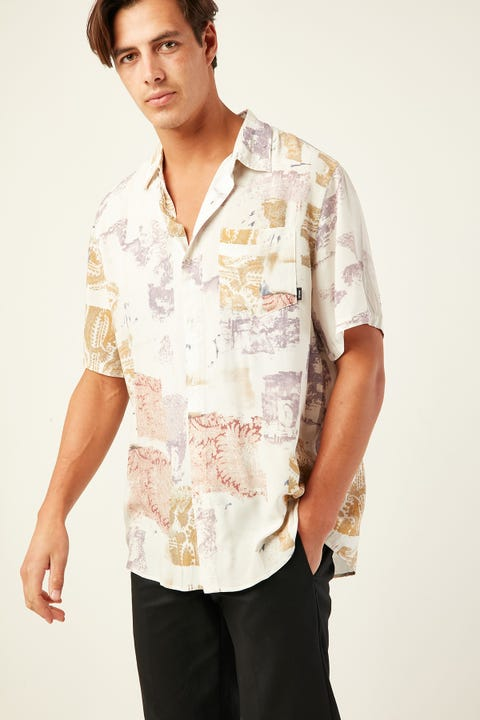 THRILLS New Fast SS Shirt Dirty White