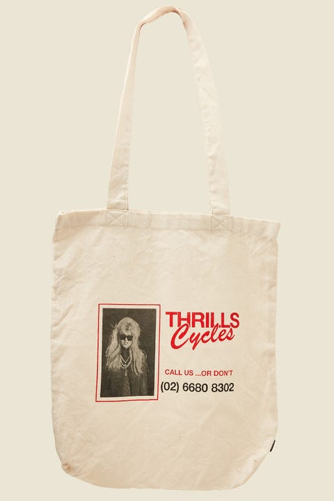 THRILLS Call Us Tote Dirty White