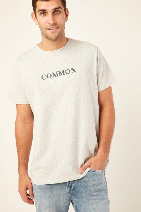 Common Need Break Tee Grey