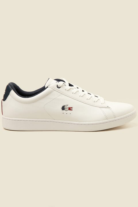 Lacoste Carnaby Evo White/Navy/Red