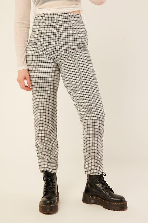 LUCK & TROUBLE Dakota Pant Black Print