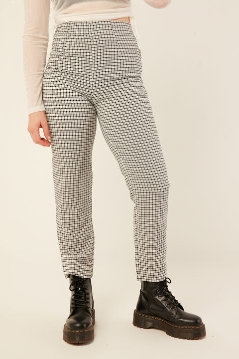 LUCK & TROUBLE Dakota Pant Black Print