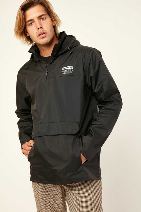 VANS Distort Type Anorak Black