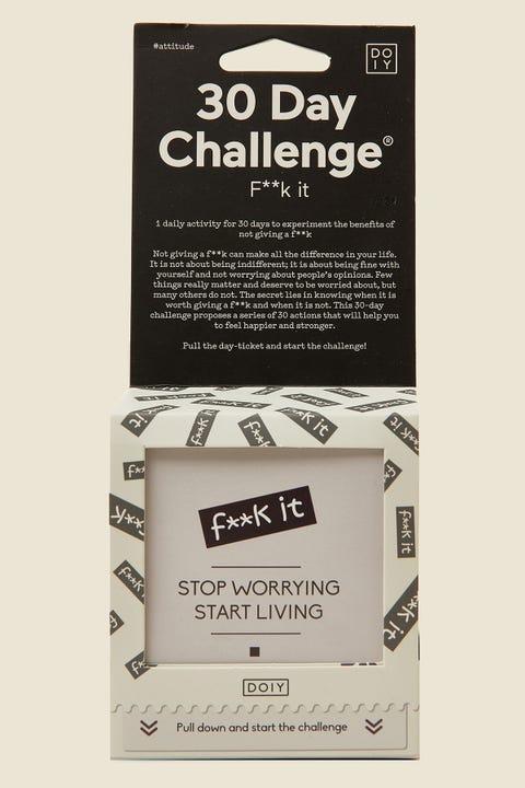 DOIY 30 Day Challenge F**k It